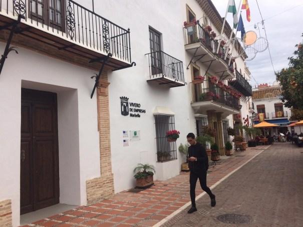 Imagen del vivero de empresas de Marbella. FOTO/ EP