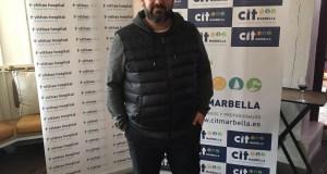 El cocinero Dani García este jueves en su restaurante Lobito de Mar, donde se ha celebrado el almuerzo mensual del CIT con él como protagonista. FOTO/ Europa Press