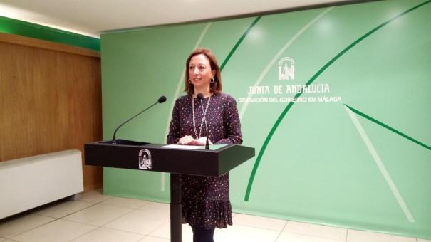 La delegada de la Junta en Málaga, Patricia Navarro, en imagen de archivo. FOTO/ EP