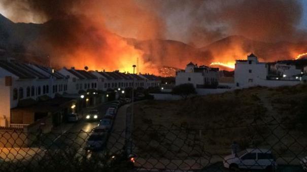 Imagen de la zona urbana afectada en Bello Horizonte. FOTO/ cedida