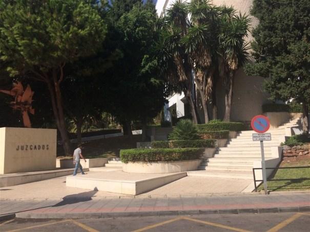 Imagen de archivo de los Juzgados de Marbella. FOTO/ EP
