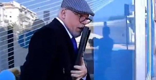 El comisario Villarejo en una imagen captada de un vídeo