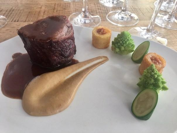 Imagen de uno de los platos de la cena de Fin de Año del Hotel Don Carlos. FOTO/ CABANILLAS