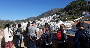 Un grupo de periodistas que visitó la Costa del Sol en 2019. FOTO/ Diputación de Málaga