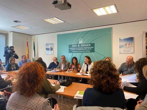 Imagen del acto que ha celebrado la Junta en Málaga para dar a conocer esta inversión en la provincia. FOTO/ JUNTA