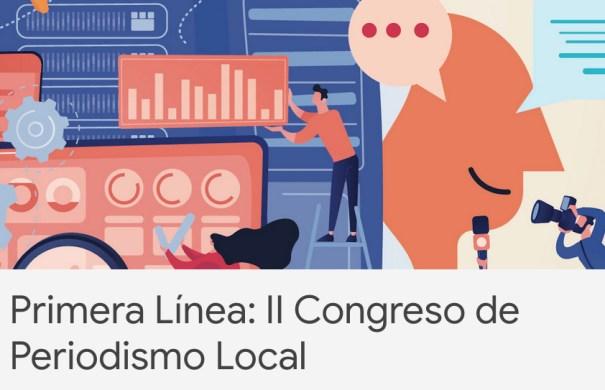 Imagen promocional del II Congreso de Periodismo Local, a celebrar en La Coruña entre los días 26 y 27 de marzo