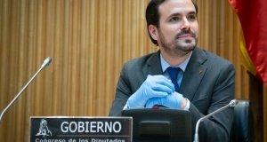 El ministro de Consumo, Alberto Garzón, durante su comparencia en el Congreso. FOTO/ Congreso de los Diputados