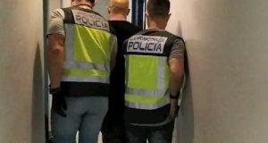 Imagen del detenido en Comisaría. FOTO/ Policía Nacional