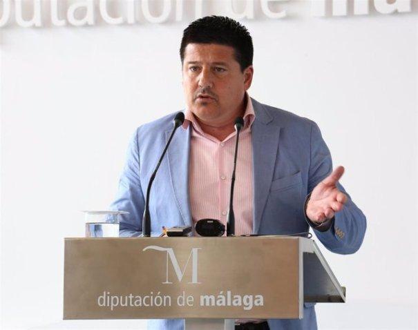 El portavoz del PP en la Diputación, Francisco Oblaré, en imagen de archivo. FOTO/ Diputación