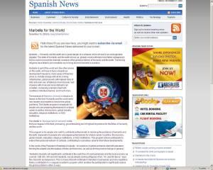 Spanish News Dec 10th