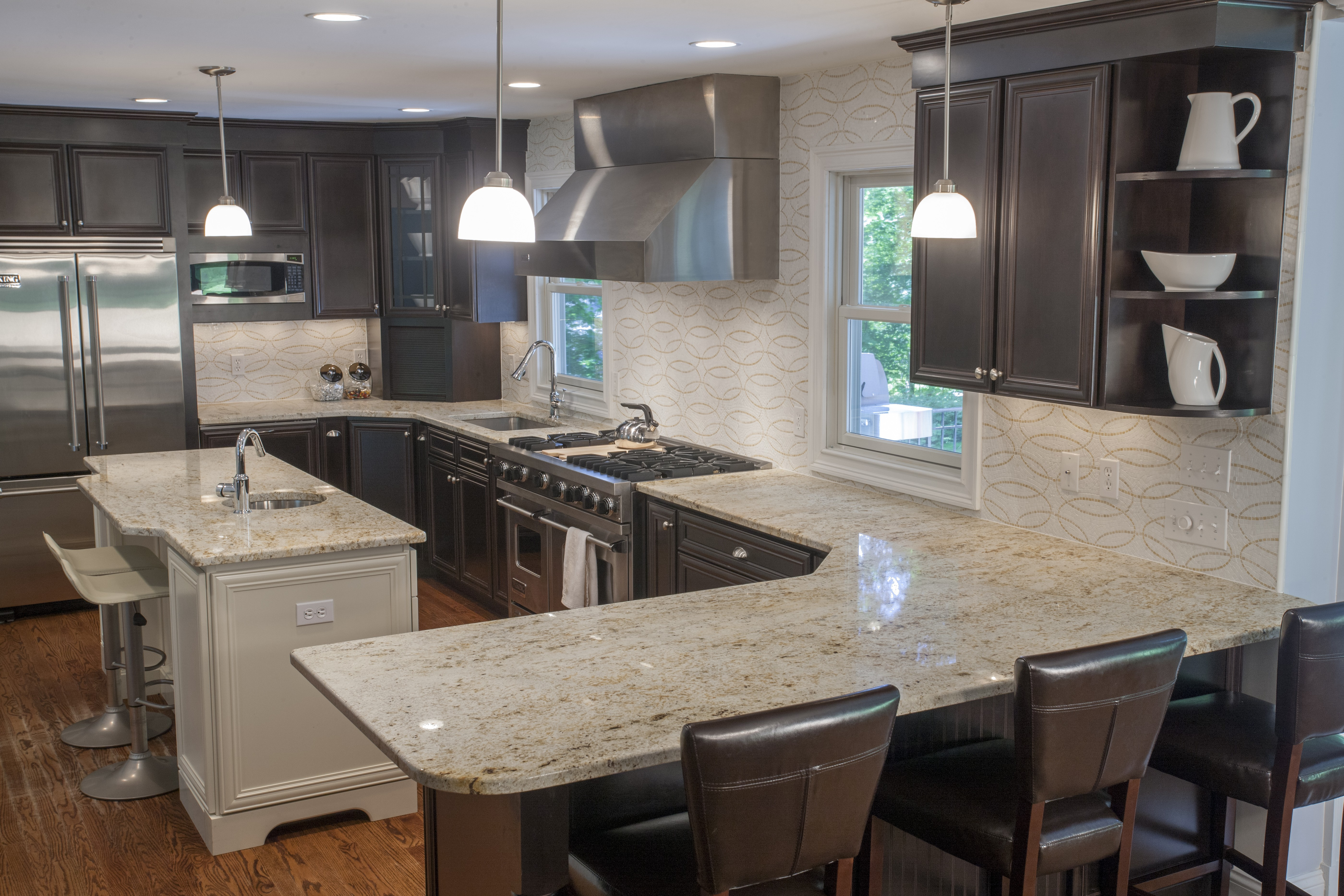 Top 5 Light Color Granite Countertops | Marble.com on What Color Cabinets With Black Granite Countertops  id=88900