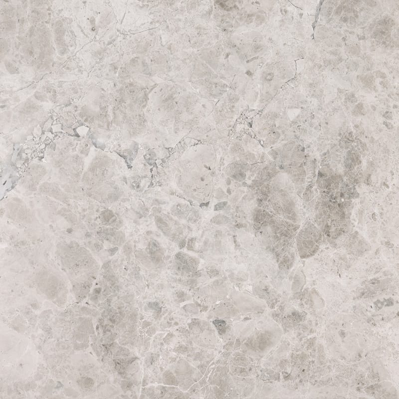Silver Shadow Honed Marble Tiles 18x18