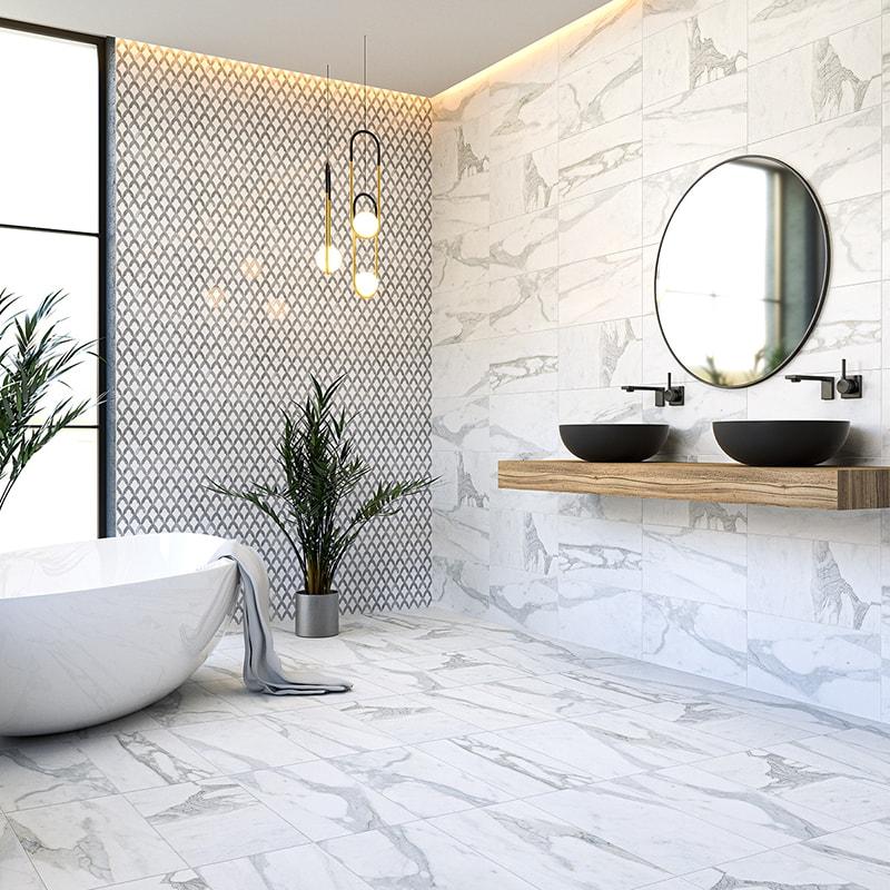 calacatta gold royal honed marble