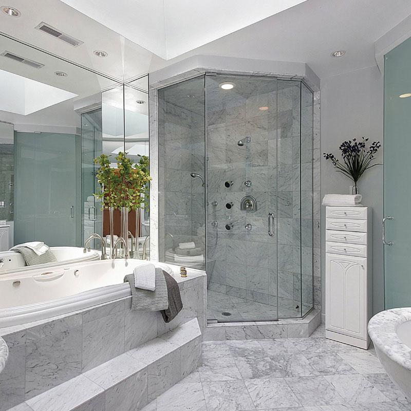 White Carrara C Honed Marble Tiles 12x12 Marble System Inc