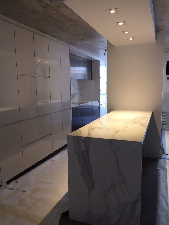 Kitchen Neolith Estatuario E05 Marble Trend Marble