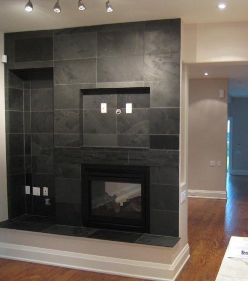 fireplace velvet black marble trend