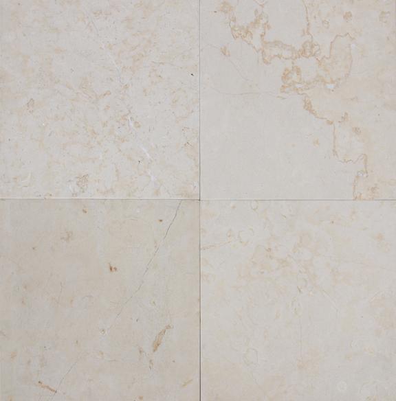 jerusalem ivory brushed limestone tile 18x18