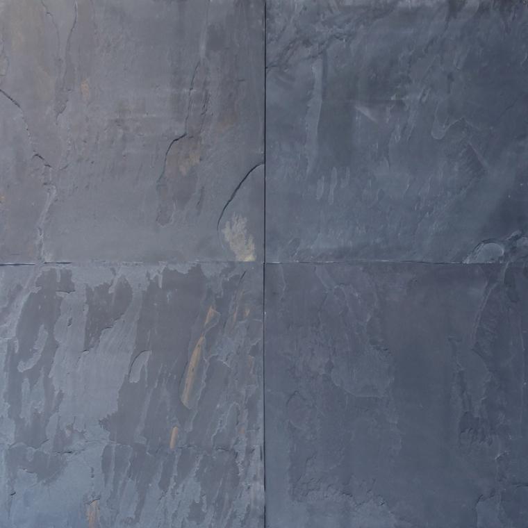 lot 107 pallet black rustic cleft gauged slate tile 18x18 270 sq ft