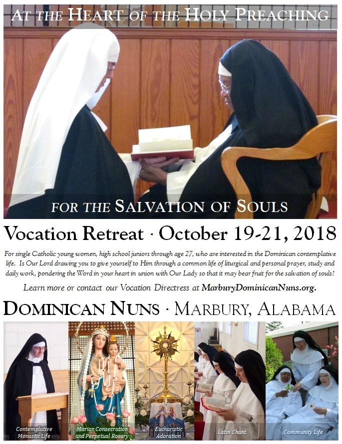 Single catholic retreats