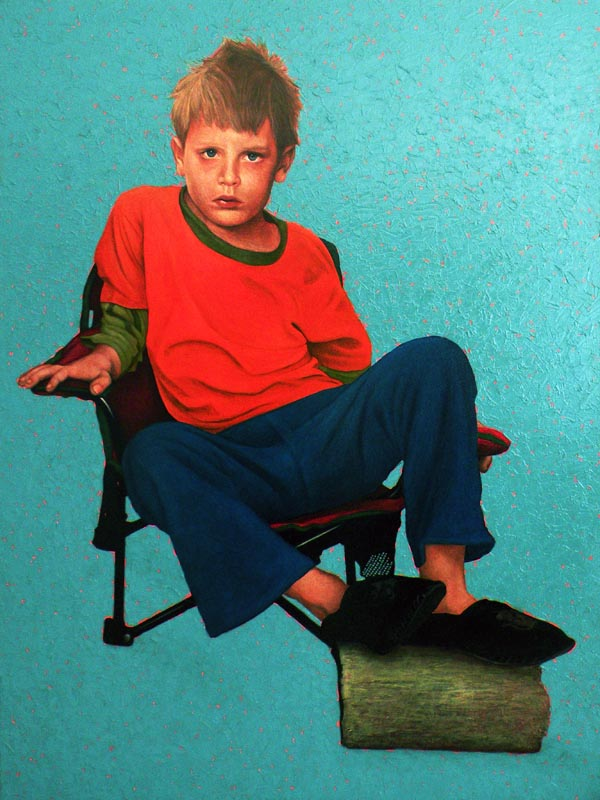 James, Oil on Canvas, 120cm by 90cm. (2013)