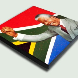 Hope for South Africa - Square Canvas Print Stretched