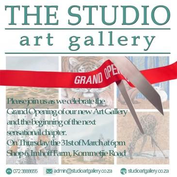 The Studio Art Gallery's Grand Opening