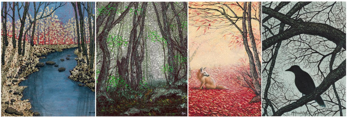 Marc Alexander | The Secret Forest Exhibition Header