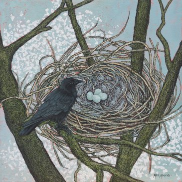 Marc Alexander | Crows Nest | The Secret Forest Exhibition