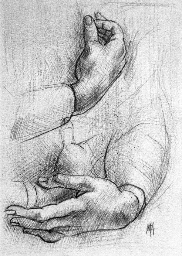 Marc Alexander   Da Vincis Hands   Touch Series