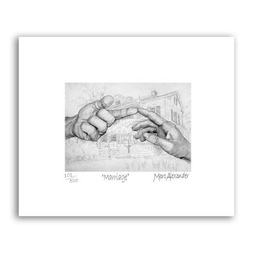 Marriage – Archival Print Unframed