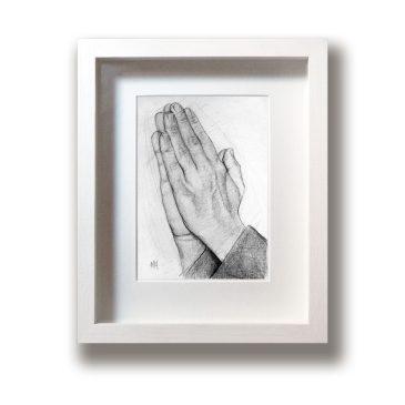 Praying Hands – Original Drawing