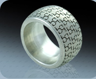 Lasergravur Ring