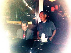 Pianist and Mr Taku