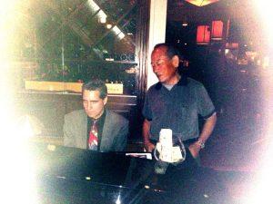 Pianist and Mr Taku
