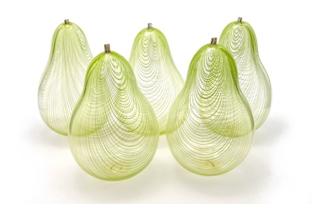 Glass Pears
