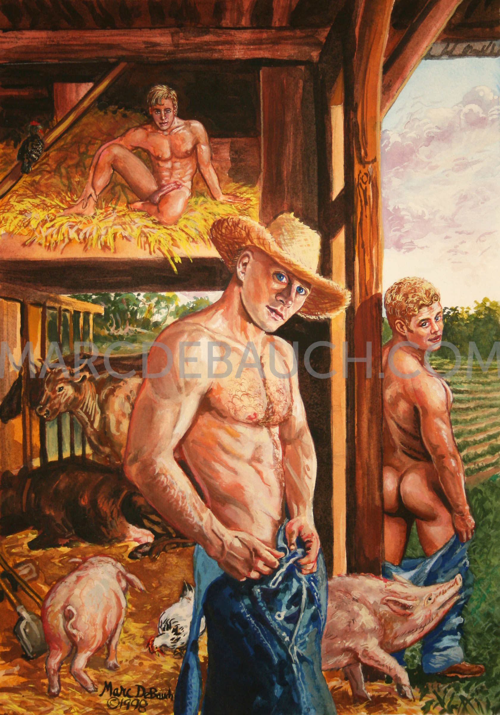 FRISKY FARMHANDS
