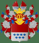 Het wapen van de uitgestorven adellijke familie Torck,