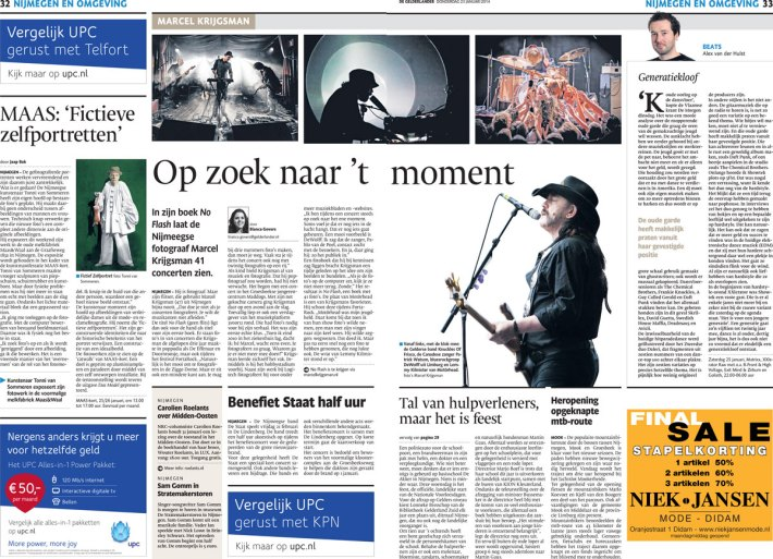Groot interview met Marcel Krijgsman in dagblad Gelderlander