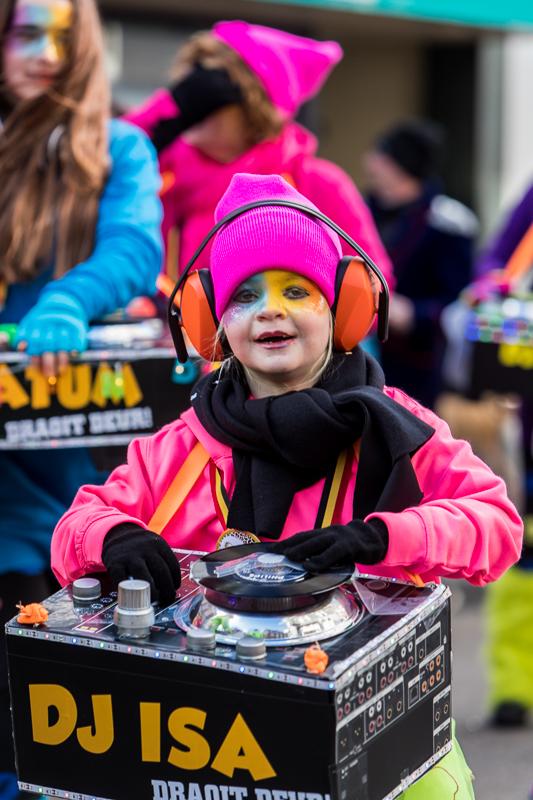 Carnavalsoptocht in Knotsenburg
