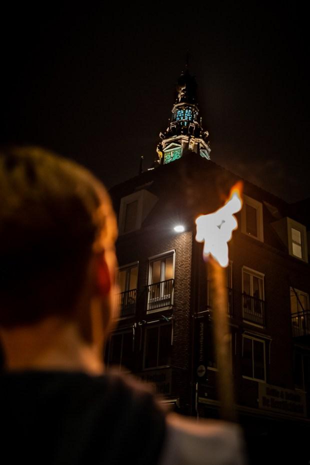 Herdenking 75 jaar bombardement Nijmegen: Stevenskerk door Marcel Krijgsman
