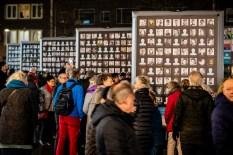 Herdenking 75 jaar bombardement Nijmegen: foto's slachtoffers op Plein 1944 door Marcel Krijgsman