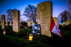 Lichtjesavond Canadese begraafplaats Groesbeek
