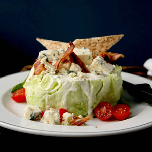 Iceberg Wedge with Maytag Blue