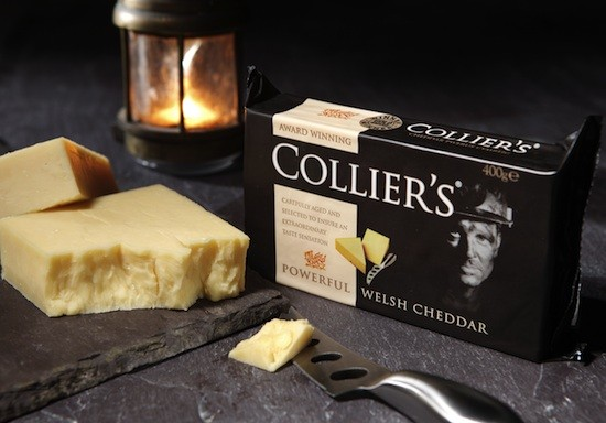 Collier S Powerful Welsh Cheddar Marcella The