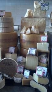 Zingerman's Cheese Display