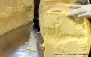 Parmigiano Reggiano made with Raw Milk