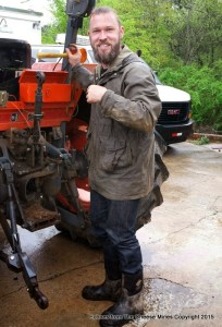 Many Fold Farm Owner, Ross Williams