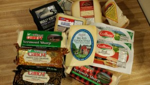 Cheese Haul from Hartwell's Ingles