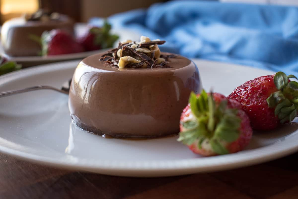 Nutella Panna Cotta