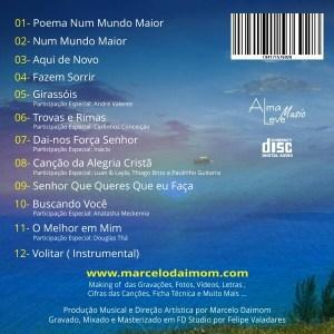 TODAS AS MÚSICAS DO CD EM FORMATO MP3 + UM CADERNO COM AS LETRAS & CIFRAS DAS MÚSICAS